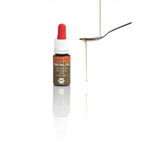 CBD Cannabidiol hempseed oil 25 %, 2500mg - 10ml